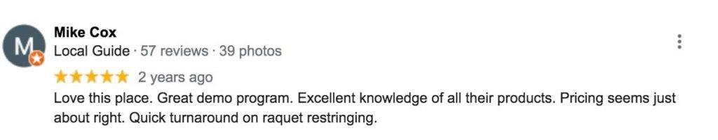 Do It Tennis - Google Reviews